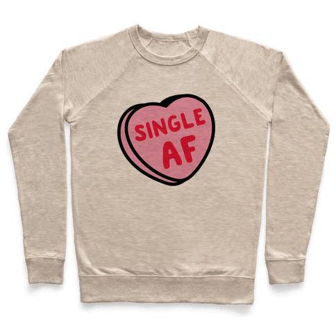 Single AF Candy Heart  Pullover