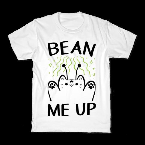 Bean Me Up Kids T-Shirt