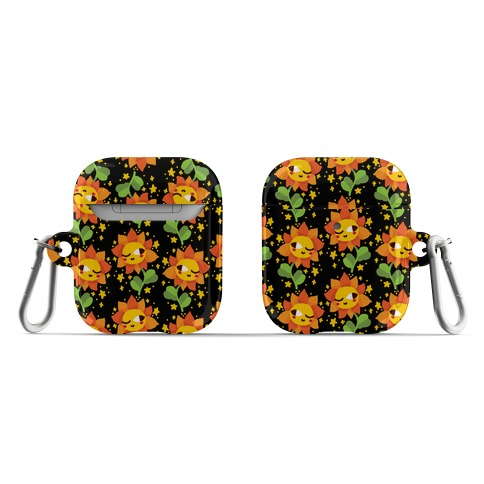 Winky Flower Pattern AirPod Case