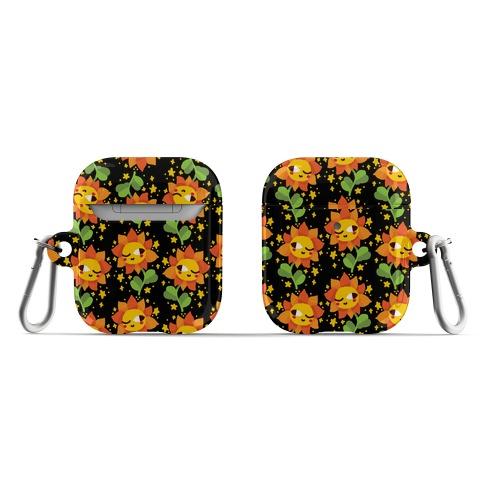 Winky Flower Pattern AirPod Case