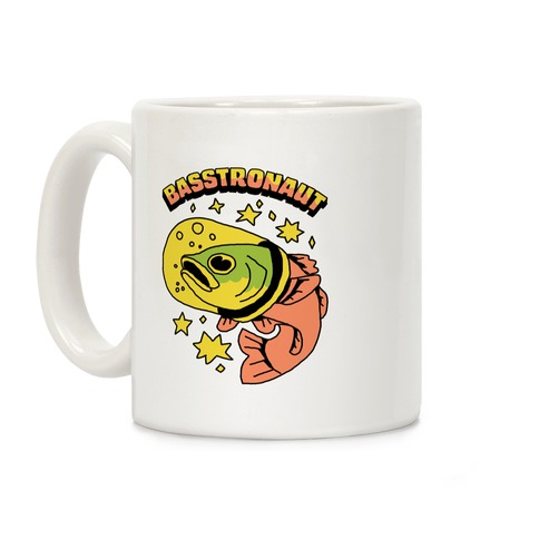 Basstronaut Coffee Mug