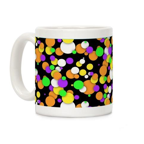 Halloween Confetti Pattern Coffee Mug