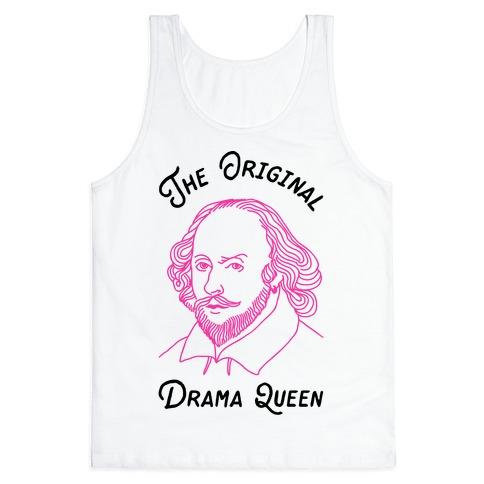 The Original Drama Queen Shakespeare Tank Top