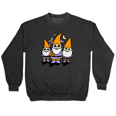 Happy Hall-Gnome-Ween (Halloween Gnomes) Pullover