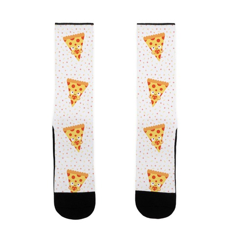 Pizza My Heart Sock