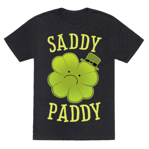 Saddy Paddy Mens/Unisex T-Shirt