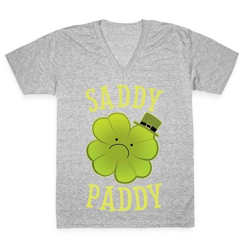 Saddy Paddy V-Neck Tee Shirt