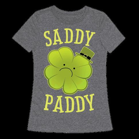 Saddy Paddy Womens T-Shirt
