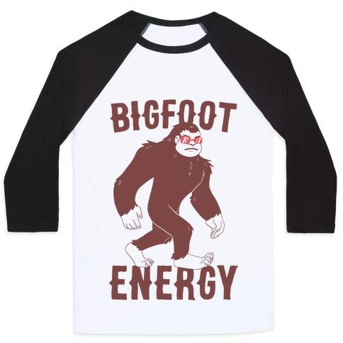 Bigfoot Energy Baseball Tee