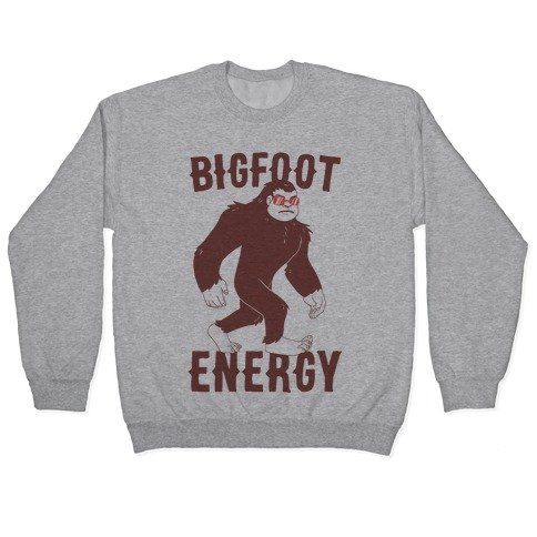 Bigfoot Energy Pullover