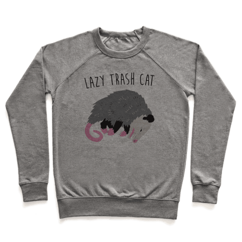 Lazy Trash Cat Pullover