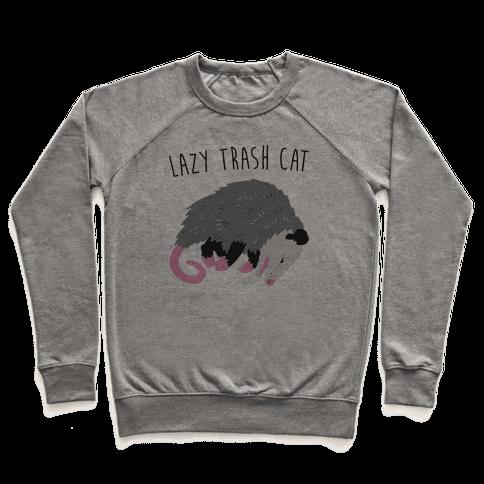 Lazy Trash Cat Pullover