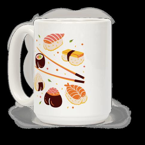 Subtle Sushi Booty Coffee Mug