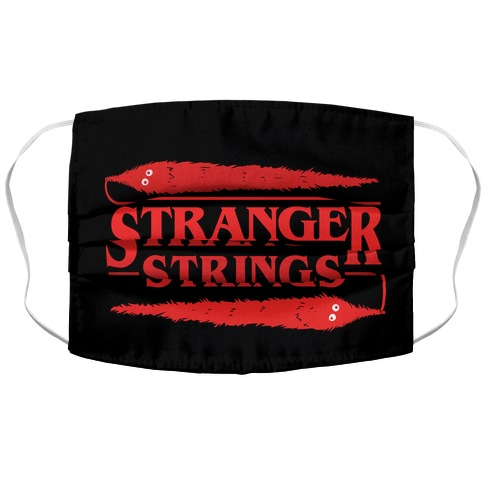Stranger Strings Accordion Face Mask