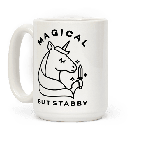 Magical But Stabby Coffee Mug