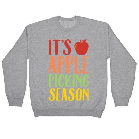It's Apple Picking Season Pullover
