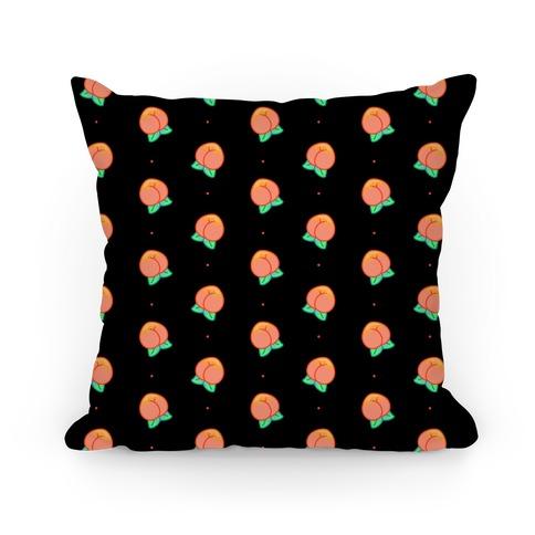 Butt Peaches Pillow