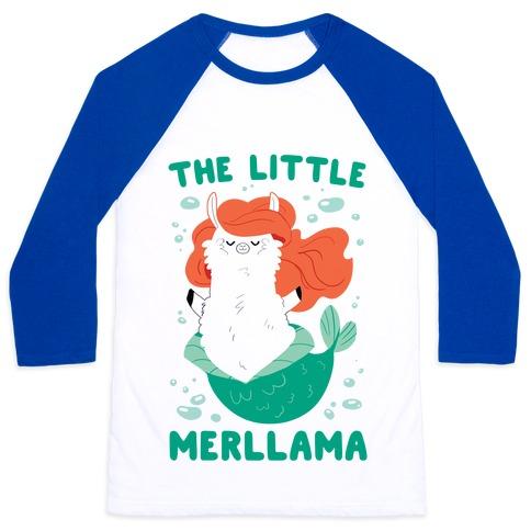 The Little Merllama Baseball Tee