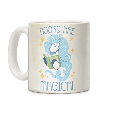 Books Are Magical Coffee Mug