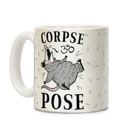 Corpse Pose Coffee Mug