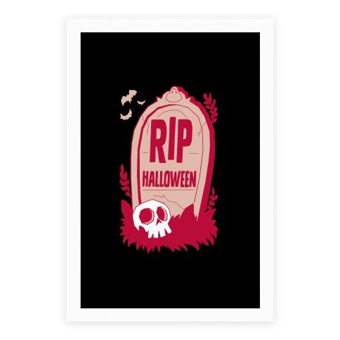 RIP Halloween Poster