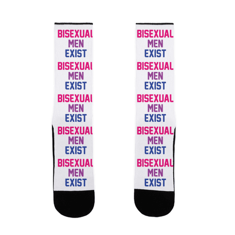 Bisexual Men Exist Sock