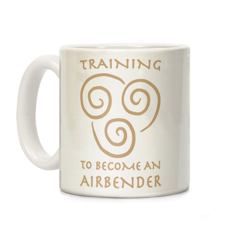 Training to Become An Airbender Coffee Mug