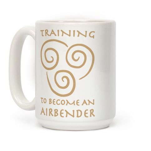 Training to Become An Airbender Coffee Mug