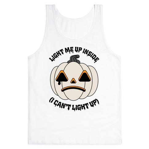 Light Me Up Inside Pumpkin Tank Top