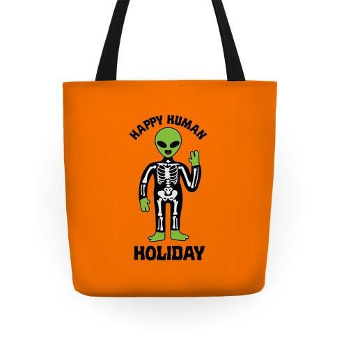 Happy Human Holiday Tote