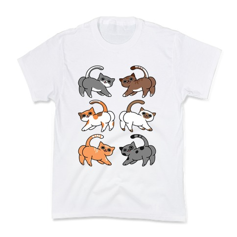 Cats With Buttcheeks Kids T-Shirt