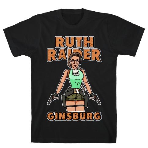 Ruth Raider Ginsburg Parody T-Shirt