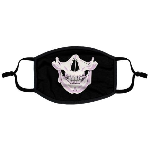 Skull Flat Face Mask