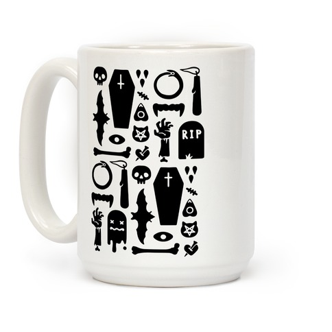 Simple Halloween Pattern Coffee Mug