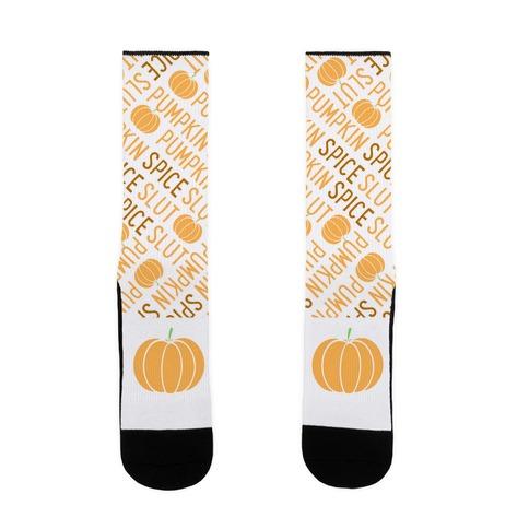 Pumpkin Spice Slut Sock
