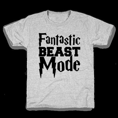 Fantastic Beast Mode Parody Kids T-Shirt