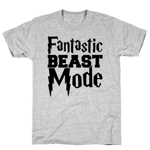 Fantastic Beast Mode Parody Mens T-Shirt