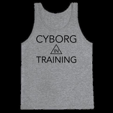 Cyborg In Training Tank Top
