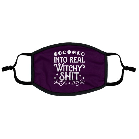Into Real Witchy Shit Flat Face Mask