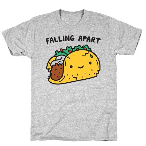 Falling Apart Taco T-Shirt
