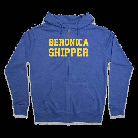 Beronica Shipper Zip Hoodie