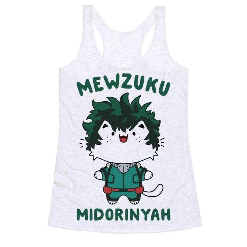 Mewzuku Midorinyah Racerback Tank Top
