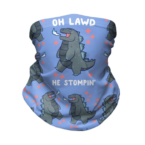 Oh Lawd, He Stompin' Neck Gaiter