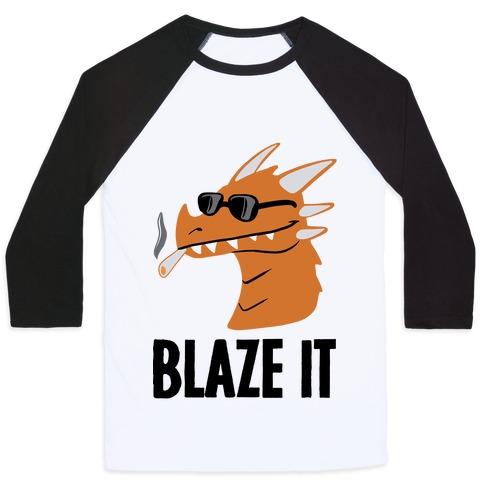 Blaze It Baseball Tee