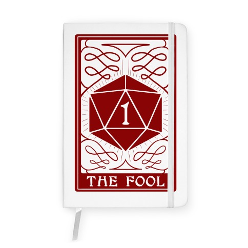 The Fool Nat1 Tarot Card Notebook