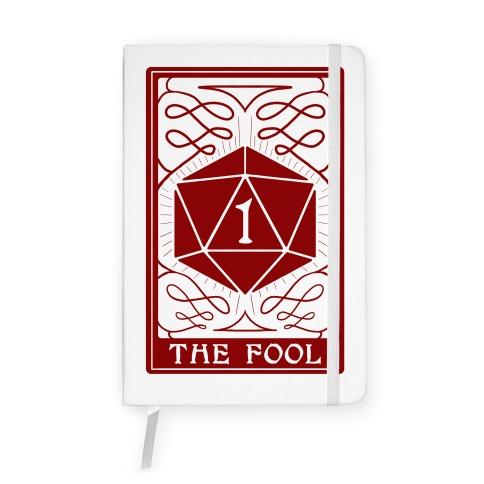 The Fool Nat1 Tarot Card Notebook