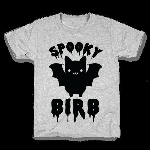Spooky Birb Bat Kids T-Shirt