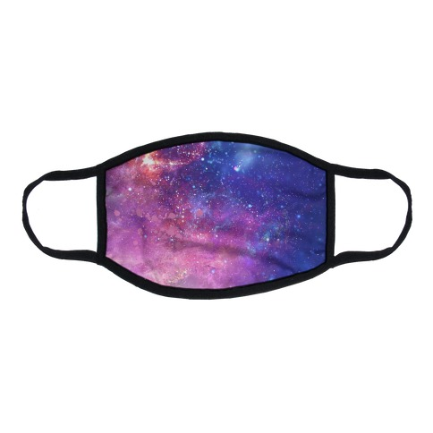 Galaxy Flat Face Mask