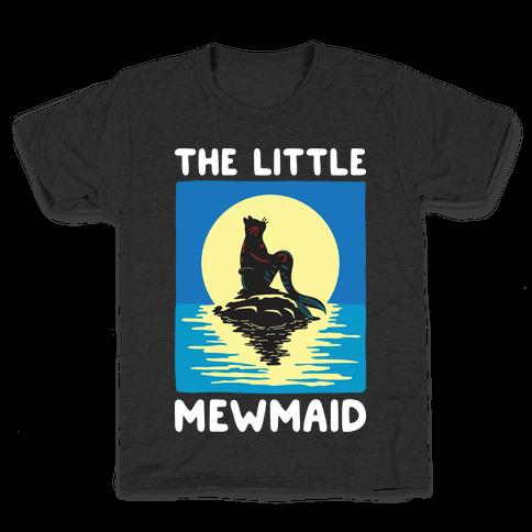 Cat Mermaid Mewmaid Youth T-Shirt