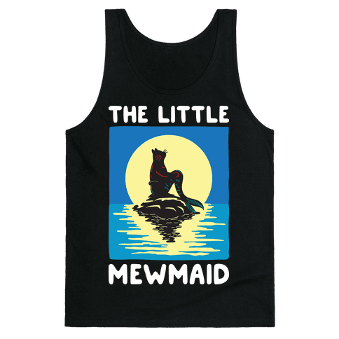 The Little Mewmaid Tank Top